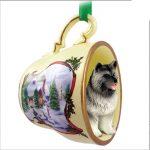 Keeshond-Dog-Christmas-Holiday-Teacup-Ornament-Figurine-400602776148