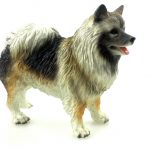 Keeshond-Hand-Painted-Collectible-Dog-Figurine-Statue-400321179758