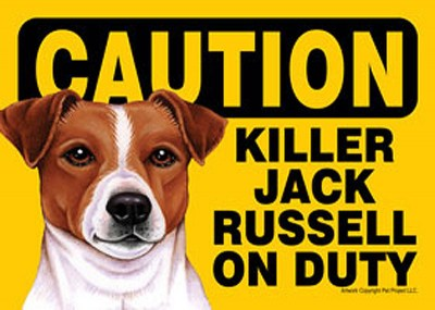 Killer-Jack-Russell-On-Duty-Dog-Sign-Magnet-Velcro-5×7-181265227882