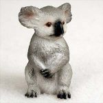 Koala-Mini-Resin-Hand-Painted-Wildlife-Animal-Figurine-400592492393