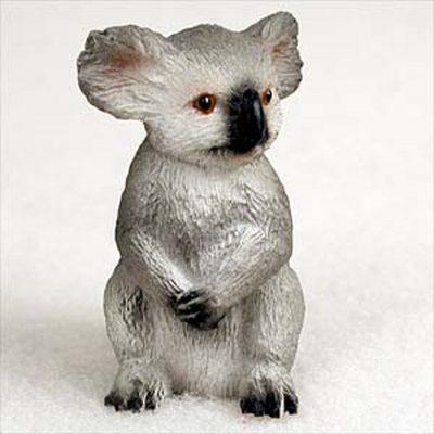 Koala-Mini-Resin-Hand-Painted-Wildlife-Animal-Figurine-400592492393