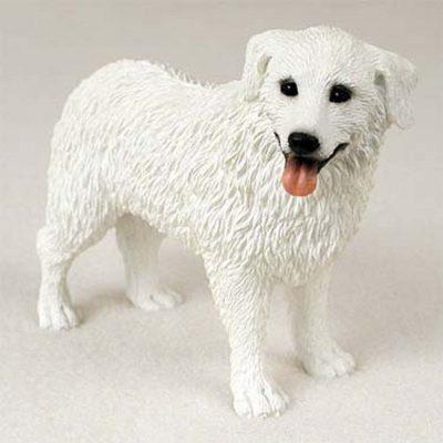 Kuvasz-Hand-Painted-Dog-Figurine-Statue-400201747868