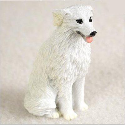 Kuvasz-Mini-Resin-Dog-Figurine-Statue-Hand-Painted-400679616000