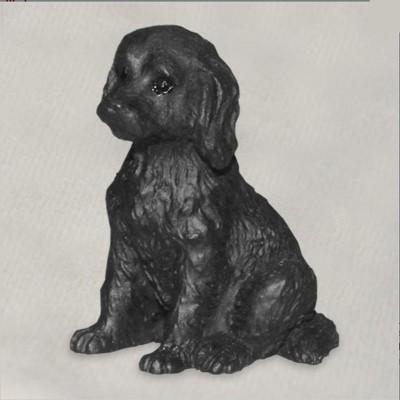 Labradoodle-Mini-Resin-Hand-Painted-Dog-Figurine-Black-181255961896