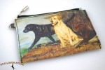 Labrador-Dog-Bag-Zippered-Pouch-Travel-Makeup-Coin-Purse-400705296049