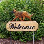 Leonberger-Dog-Breed-Oak-Wood-Welcome-Outdoor-Yard-Sign-400706804561