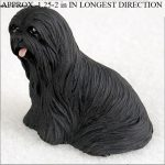 Lhasa-Apso-Collectible-Mini-Resin-Hand-Painted-Dog-Figurine-Black-180855996384