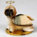 Lhasa-Apso-Dog-Figurine-Angel-Statue-Brown-Sport-Cut-400201488568