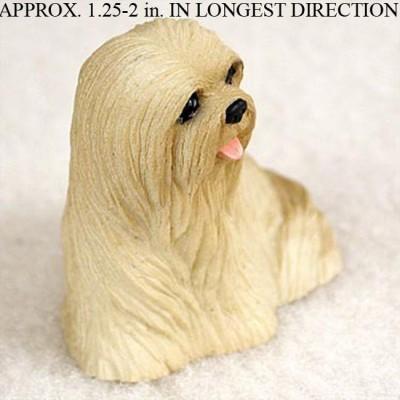 Lhasa-Apso-Mini-Resin-Dog-Figurine-Blonde-400205070471