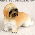 Lhasa-Apso-Mini-Resin-Dog-Figurine-Statue-Hand-Painted-Brown-Puppy-Cut-400205070480