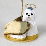 Maltese-Dog-Figurine-Angel-Statue-180842188814
