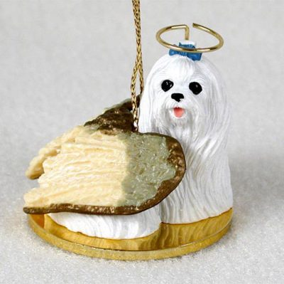 Maltese-Dog-Figurine-Angel-Statue-180842188814