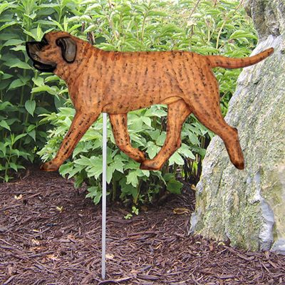 Mastiff-Outdoor-Garden-Dog-Sign-Hand-Painted-Figure-Apricot-Brindle-400688310363