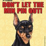 Mini-Pinscher-Dont-Let-the-Breed-Out-Sign-Suction-Cup-7×5-181141677865