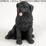 Newfoundland-Collectible-Mini-Resin-Hand-Painted-Dog-Figurine-400322898143