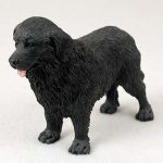 Newfoundland-Hand-Painted-Collectible-Dog-Figurine-400282955300
