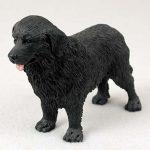 Newfoundland-Hand-Painted-Collectible-Dog-Figurine-400282955300