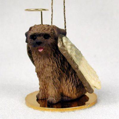 Norfolk-Terrier-Dog-Figurine-Angel-Statue-Hand-Painted-180637636867