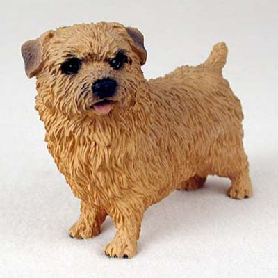 Norfolk-Terrier-Hand-Painted-Collectible-Dog-Figurine-400321180405