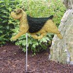 Norfolk-Terrier-Outdoor-Garden-Dog-Sign-Hand-Painted-Figure-Black-Tan-181369672085
