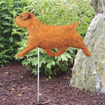 Norfolk-Terrier-Outdoor-Garden-Dog-Sign-Hand-Painted-Figure-Red-181369672802