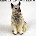Norwegian-Elkhound-Mini-Resin-Hand-Painted-Dog-Figurine-400249634972