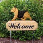Norwich-Terrier-Dog-Breed-Oak-Wood-Welcome-Outdoor-Yard-Sign-Black-Tan-400706807030