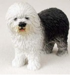 Old-English-Sheepdog-Hand-Painted-Dog-Figurine-Statue-180638149830