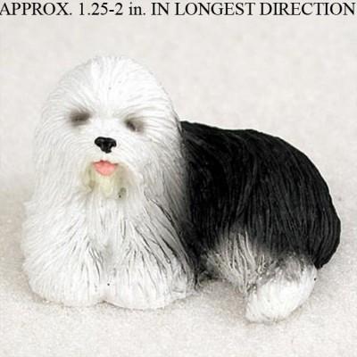 Old-English-Sheepdog-Mini-Resin-Hand-Painted-Dog-Figurine-400249711343