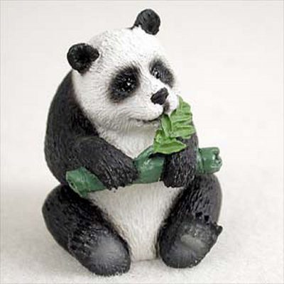 Panda-Bear-Mini-Resin-Hand-Painted-Wildlife-Animal-Figurine-400592492594
