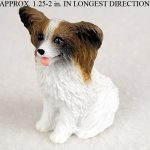 Papillon-Mini-Resin-Hand-Painted-Dog-Figurine-BrownWhite-400482587663