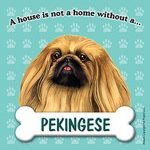 Pekingese-Dog-Magnet-Sign-House-Is-Not-A-Home-181042817031
