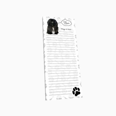 Pekingese-Dog-Magnetic-Refrigerator-List-Note-Pad-Paper-400647508680