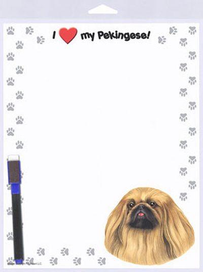 Pekingese-Dog-Memo-Board-Magnetic-Sign-8×10-181010612167
