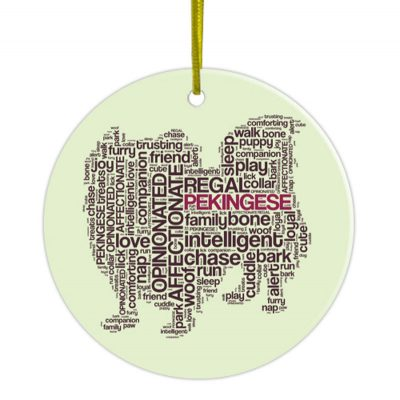 Pekingese-Hand-Printed-Ceramic-Christmas-Holiday-Dog-Ornament-181270766863