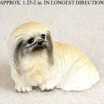 Pekingese-Mini-Resin-Hand-Painted-Dog-Figurine-400590467279