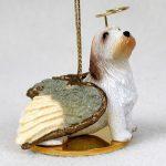 Petit-Basset-Griffon-Vendeen-Dog-Figurine-Angel-Statue-Hand-Painted-180637637015
