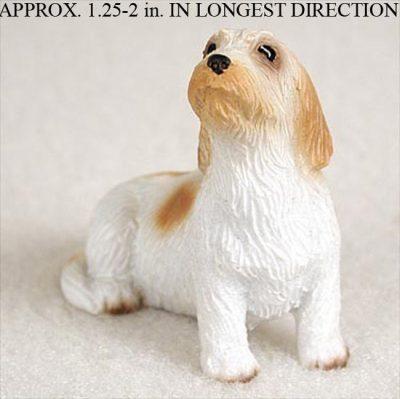 Petit-Basset-Griffon-Vendeen-Mini-Resin-Dog-Figurine-Statue-Hand-Painted-180644349731