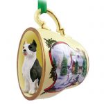 Pit-Bull-Terrier-Dog-Christmas-Holiday-Teacup-Ornament-Figurine-Brindle-400249385092