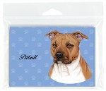 Pitbull-Dog-Note-Cards-Set-of-8-with-Envelopes-Brown-Uncropped-400694671895