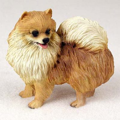 Pomeranian-Hand-Painted-Collectible-Dog-Figurine-400321180801