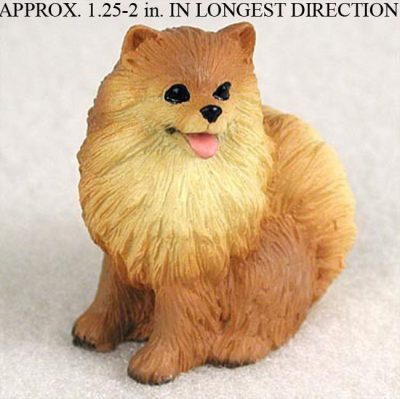 Pomeranian-Mini-Resin-Dog-Figurine-400205071086