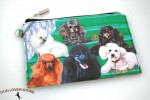 Poodle-Dog-Bag-Zippered-Pouch-Travel-Makeup-Coin-Purse-181401632454