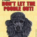 Poodle-Dont-Let-the-Breed-Out-Sign-Suction-Cup-7×5-Black-181141678828