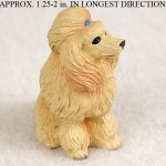 Poodle-Mini-Resin-Hand-Painted-Dog-Figurine-Statue-Hand-Painted-Apricot-180675951605