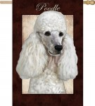 Poodle-White-Dog-House-Garden-Flag-Decorative-125-x-18-400430206326