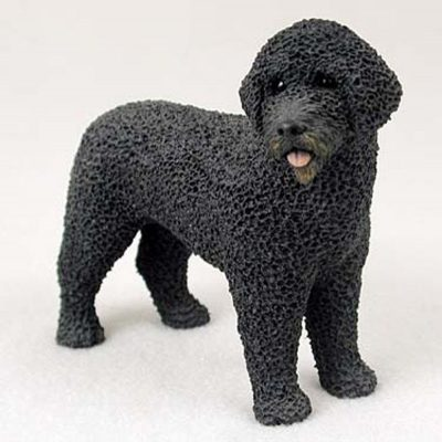 Portuguese-Waterdog-Hand-Painted-Dog-Figurine-Statue-400201748212