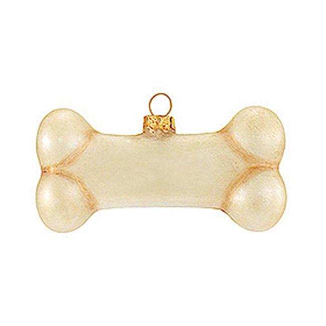Dog Bone Picture Ornament