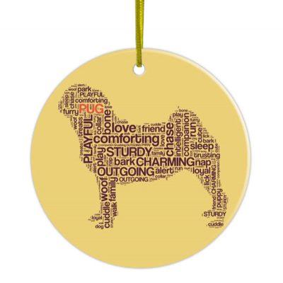 Pug-Hand-Printed-Ceramic-Christmas-Holiday-Dog-Ornament-181270768179