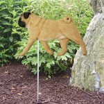 Pug-Outdoor-Garden-Dog-Sign-Hand-Painted-Figure-Fawn-400688314728
